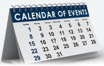 Central Union Mission Calendar