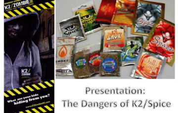 Presentation:  The Dangers of K2 Spice