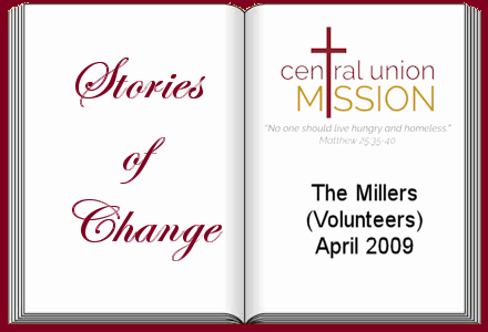 The Millers - Volunteers, April 2009